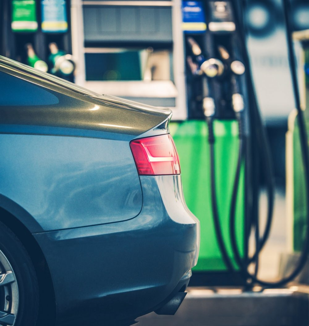 Gas Station Car Refueling